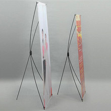 10pcs X Banner Advertising Poster Display Stands For Promotion Exhibition Trade Show Booth(Printing Excluded)(China)