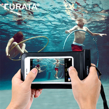 "Turata IPX8 Waterproof Case Cover For iPhone 4S 5 5S 6 6S 7 Plus For Samsung Galaxy S5 S6 S7 S8 Edge Mobile Phone Bag Up to 6.0""(China)"
