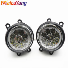 Car styling LED Fog LIGHT Lights Right + Left For Toyota Camry, Camry Hybrid 2007 - 2013 81210-06052 2pcs