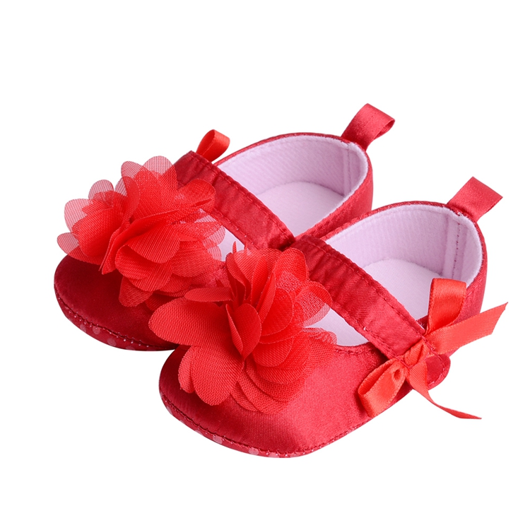 Flower Spring / Autumn Infant Baby Shoes Moccasins Newborn Girls Booties for Newborn 3 Color Available 0-18 Months 14