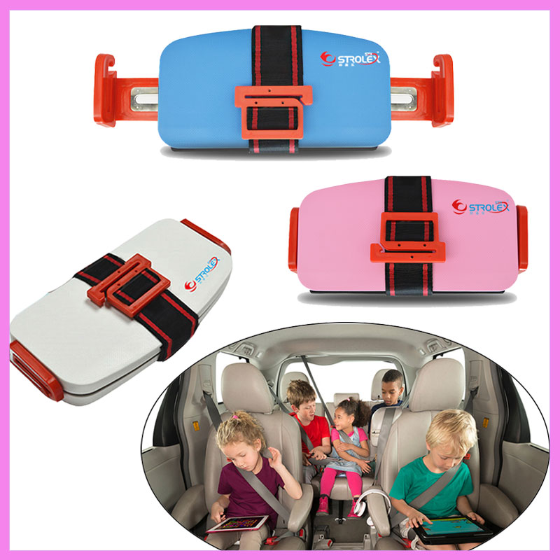 Grab-and-Go Car Booster Seat Children Car Safety Seat 3-12 Year-old Baby Car Seat Travel System Portable Safety Cushion Seat<br>