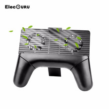 Elecguru 3 in 1 Function Portable Mobile Phone holder with Cooling and Charging System for Game and Movie Lovers(China)