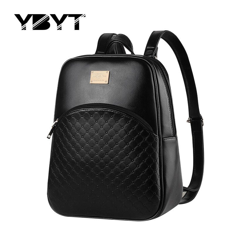 YBYT brand 2016 vintage casual rucksack high quality women candy color clutch ladies mobile purse famous school student backpack<br><br>Aliexpress
