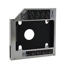"NEW  2.5"" 12.7mm PATA IDE to SATA 2ND HDD Hard Drive Disk Caddy Laptop CD/DVD-ROM Optical Bay for Dell Inspiron XPS"