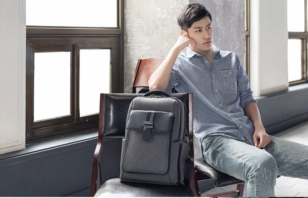 Xiaomi Fashion Commuting Waterproof backpack Removable Front Bag Big Capacity men backpacks travel backpack Laptop Bag male H0 (34)