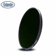 Sidande 58mm/62mm/67mm/72mm/77mm Fader Adjustable Variable Density Neutral Gray ND2-400 Filter HD ND Lens Filter ND2 to ND400