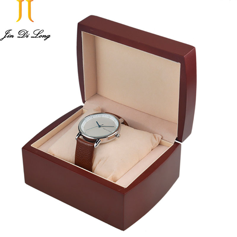 Luxury Red Fashion Wood Watch box with pillow package case wristwatches boxes Jewelry storage gift Display High Qaulity<br><br>Aliexpress