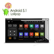 "6.95"" Android 5.1 OS Double Din Car DVD Two Din Car Radio 2 Din Car Navigation with MPEG2/4 DVB-T Digital TV Function(China)"