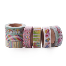 1 roll lovely various patterns Kawaii stationery fox washi tape for notebook decoration