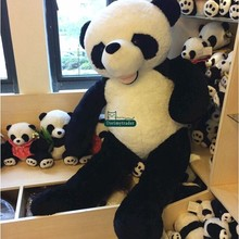 Dorimytrader giant plush panda bear skin 180cm Biggest Lovely Soft huge panda factory price high quality DY61454(China)