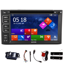 Navigation MP4 Head Unit Audio Touchscreen System Map Stereo Steering Wheel MP5 Music Car DVD Player CD GPS Auto Radio