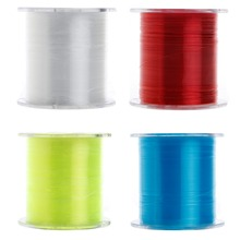 500m Nylon Fishing Line Japanese Durable Monofilament Rock Sea Fishing Line Thread Bulk Spool All Size 4 Colors 0.4 to 8.0(China)
