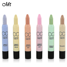 Contouring Makeup CC Color Corrector Cream Concealer Palette Pen Pencil Corretivo Stick Highlighter Conceal By Menow Cosmetic