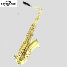 Tenor Bb green wire drawing Sax Wind Instrument Saxophone Western Instruments saxofone Saxe Professional Musical Instrument(China)