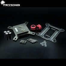 FREEZEMOD  all - metal CPU water cooling block sprayable liquid block with micro channel for I N T EL. I NTEL-JB3T