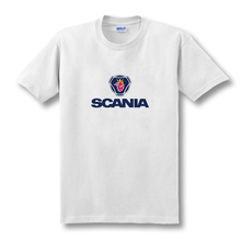 2016 Hot Selling SCANIA tee shirts O-Neck The fashion Cool Bus shirt Cotton t shirts