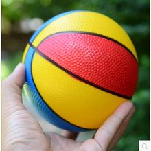 10pcs Inflatable Balls 6Inch New Thickening Colorful Basketball Toy For Children Outdoor Sports Pat Ball baby gifts