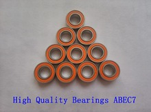 Free shipping 10PCS 3X10X4mm S623 2RS CB ABEC7 LD 3x10x4 Stainless steel hybrid ceramic ball bearing