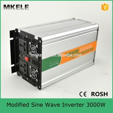 MKM3000-242G modified sine wave 24v 220v 3000w power inverter circuit 5vdc usb power inverter with CE ROHS certificate