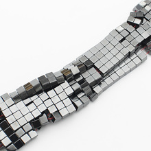 Magnetic Hematite Cubic Beads 3,4,6mm 15inch per strand ,For DIY Jewelry making !We provide mixed wholesale for all items !(China)