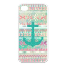 Wholesale and retail -Custom Girly Floral Tribal Andes Aztec mobile phone bags Printed hard Case For iphone4/4s/5/5s/6/6plus(China)