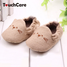 Lovely Baby Boy Girl Knitted Crib Shoes Infant Toddler Newborn Cartoon Elastic First Walkers Soft Slipper Crib Shoes(China)