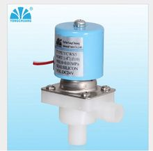 Normally Closed N/C Drinking Fountains RO Rectangular Low Pressure DC 24V DN10 Plastic Water Steam Hot water Solenoid Valve(China)