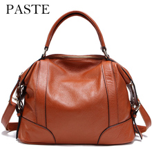 2017 ladies handbag large big shoulder bag for women Brand designer Tote bag 100% Real leather Travel bag Light Gold Buckle