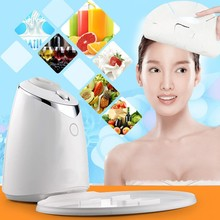 Sispop Face Mask Machine Automatic Fruit Facial Mask Maker DIY Natural Vegetable Mask With Collagen Pill English Voice Skin Care
