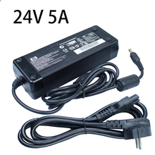 DC 24V 5A Power Supply Adapter Switching Transformer Charger For 5050 Led Strip Driver Converter EU/US/UK/AU Plug