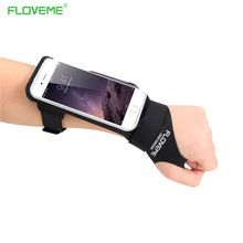 FLOVEME Cycling Running Sports Arm Band Case Universal For iPhone 6S 6 Plus 7 7Plus 5S Phone Bag Cover For Galaxy S7Edge S6 Edge