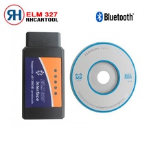 V2.1 ELM327 Bluetooth OBDII ODB2 Diagnostic Interface Bluetooth ELM 327 Car Scan Tool For Multi-Brands Cars Android free ship