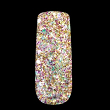 Mix Size Glitter Nail Art Glitter Powder Brilliant Nail Glitter Powder Red Pink Acrylic Nail Decoration Tool 283
