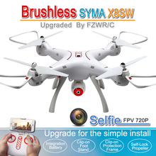 Syma x8 x8sw x8sc RC Quadcopter Helicopter Drone 6-Axis Altitude Hold with WIFI FPV 720P / 2.0MP HD Camera VS X8C X8W X8HW X8HG(China)