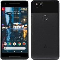 Google Pixel 2 смартфон, дисплей 5 дюймов, восьмиядерный процессор Snapdragon 835, ОЗУ 4 ГБ, ПЗУ 64/128 ГБ, 4G LTE