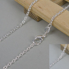 LKNSPCC012 // wholesale fashion Character chain Necklace , Factory Price 925 jewelry hot sale silver plated Necklace