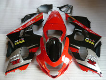 Motorcycle Fairing Kit for SUZUKI GSXR 600 750 K4 04 05 GSXR600 GSXR750 2004 2005 ABS Hot red black Fairings set+7gifts SA54(China)