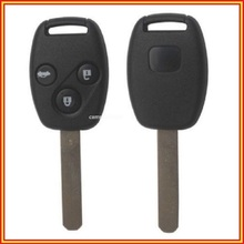 New Uncut Remote Control Key Fob 3 Button 433Mhz With ID46 Chip for Honda Accord Euro 2003 2004 2005 2006 2007