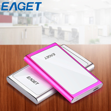 Original Eaget G90 2.5'' Ultra-thin USB 3.0 High Speed External Hard Drives Portable 500GB 1TB Shockproof Mobile Hard Disk HDD