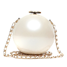 Women Shoulder Bags Chains Pearl Lady Single Circular CC Mini Famous Brands Corssbody Bags for women Messenger Bag Bolso Mujer