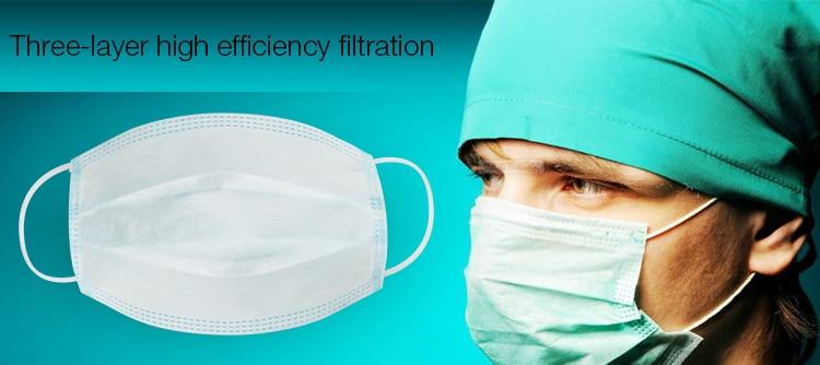 anti-poussière sûr et respirant masque facial