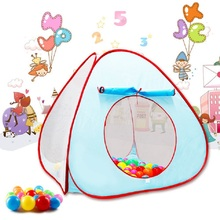 Portable Children Kids Play Tents Outdoor Garden Folding Baby Toy Tent Girl Princess Castle Outdoor House Kids Tent For Baby Gif