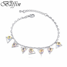 Bohemian Charm Pulseras Made with Swarovski ELements Crystal Women Bracelet Kids Slave Bracelet 2015 New Sale