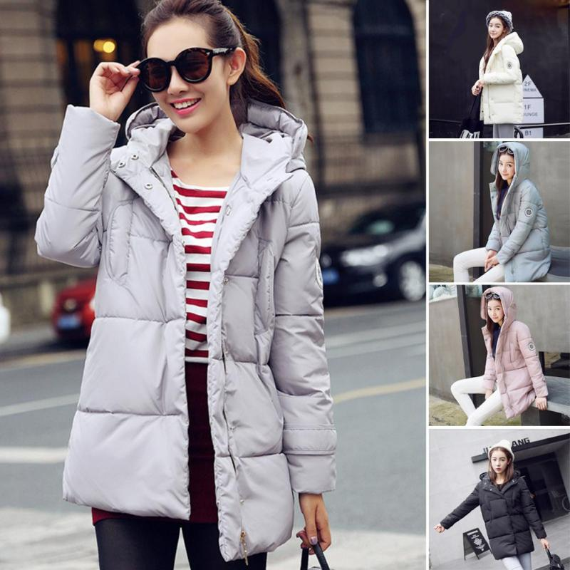 Wadded Jacket Female New Winter Jackets Down Cotton Hooded Coat For Women Slim Parkas Ladies Plus Size Jackets And Coats C1Одежда и ак�е��уары<br><br><br>Aliexpress