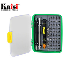Kaisi 51 in 1 Precision Screwdriver Set Multi-functional Repair Tool Kit for iPhone / Phone / Camera / Laptop / Tablet PC(China)