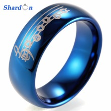SHARDON Wedding and engagement jewelry Tungsten wedding bands Lovers' Engagement ring for free shipping Engagement ring(China)