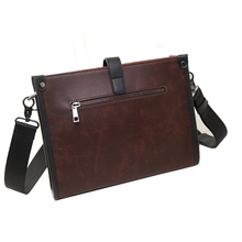 New hot sale fashion men bags men famous brand design leather messenger bag high quality man personality shoulder bag