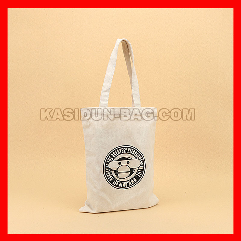 cotton bag with 1 color logo