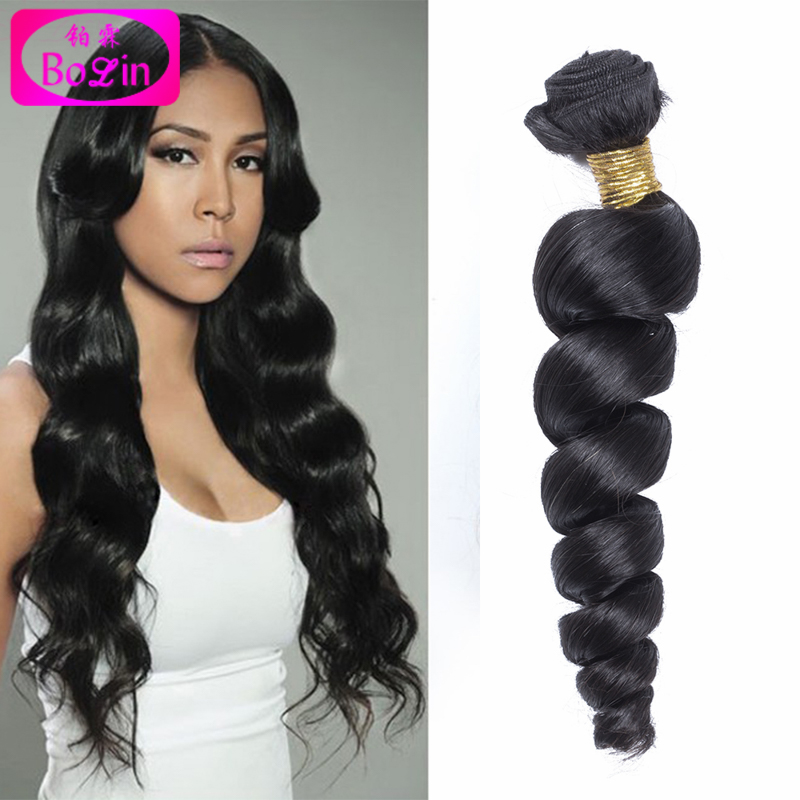 Malaysian Loose Wave 3pcs Lot, 6A Grade Malaysian Virgin Hair Bolin Hair Products Malaysian Loose Curl Human Hair Bundles<br><br>Aliexpress