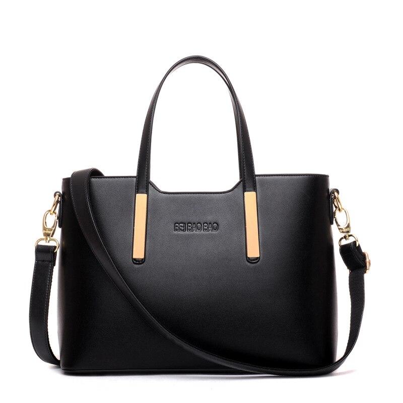 Woman Bags 2017 Bag Handbag Fashion women leather Handbags Solid 6 Colors Tote Ladies Shoulder Bags Lady Bolsos Mujer sac femme<br><br>Aliexpress